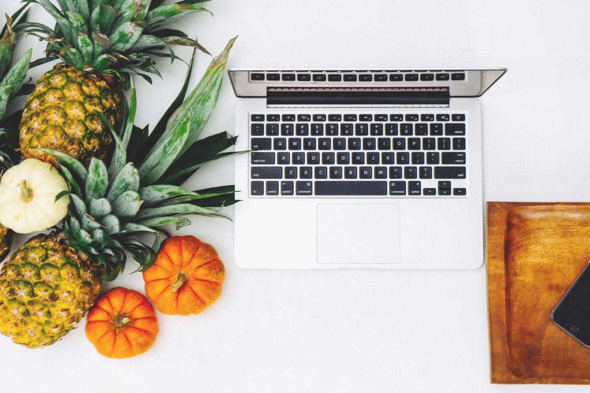 amélie boudin diététicienne nutritionniste Avignon Sorgues Orange ananas tomates ordinateur
