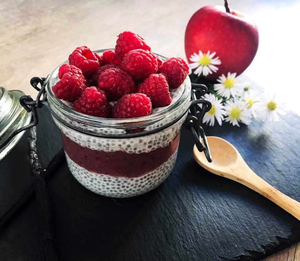 Le chia-pudding recette Amélie diététicienne