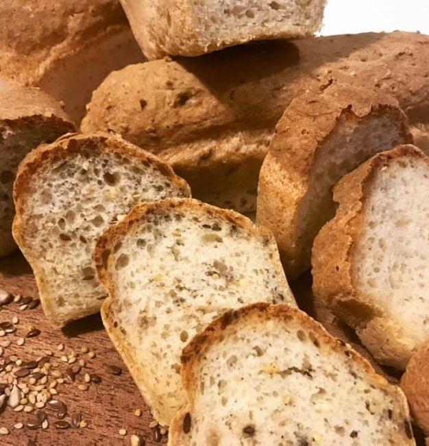 Une recette de pain sans gluten