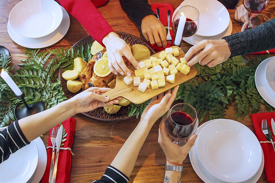 Amélie diététicienne repas de Noël