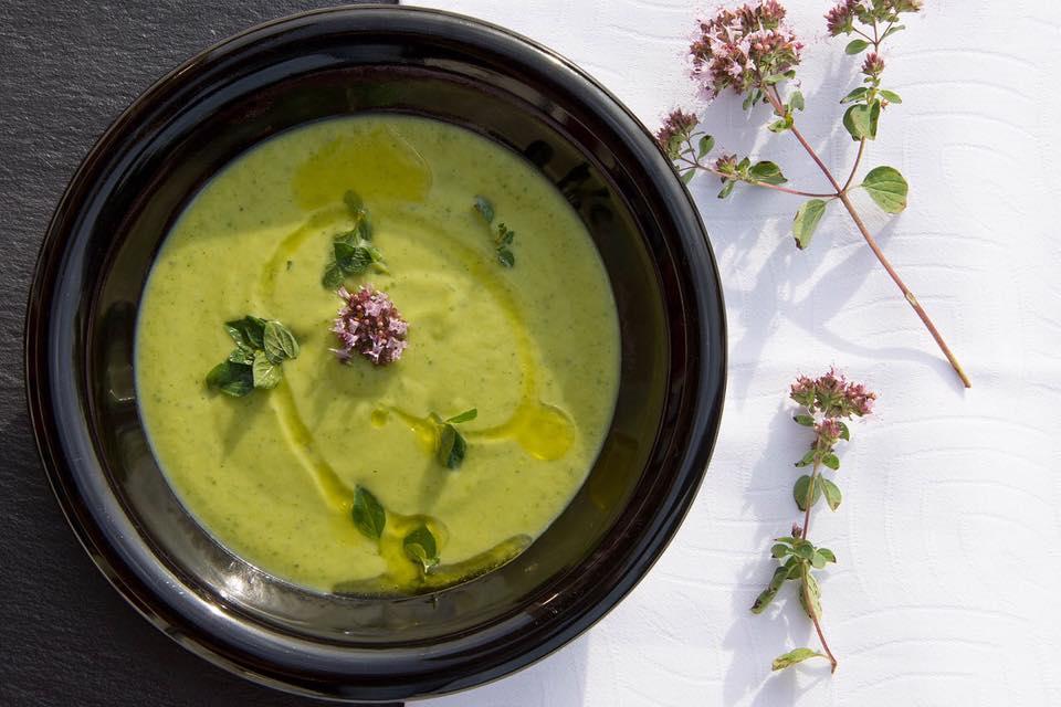 soupe légumes verts